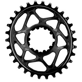 absoluteBLACK Oval Chainring for SRAM XX1 Spiderless, black